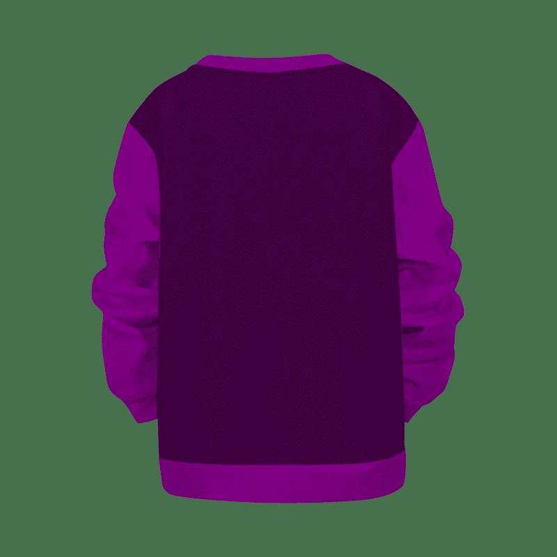 Dragon Ball Z Legendary Saiyan Broly Cool Art Purple Kids Sweatshirt