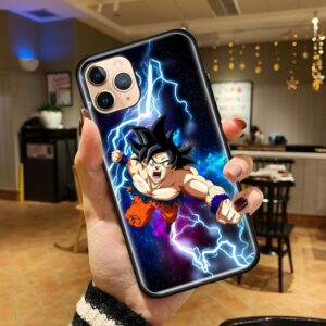 Dragon Ball Z Charging Goku God iPhone 12 (Mini, Pro & Pro Max) Cover