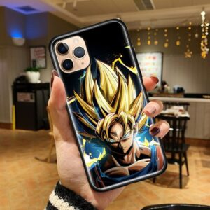 Dragon Ball Z Goku SS3 iPhone 12 (Mini, Pro & Pro Max) Cover