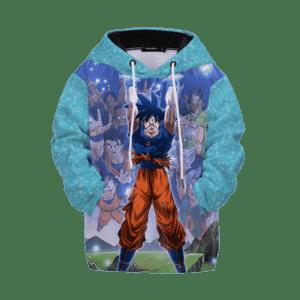 Dragon Ball Z Goku Spirit Ball Classic Kids Hoodie
