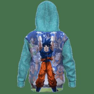 Dragon Ball Z Goku Spirit Ball Classic Kids Hoodie - back