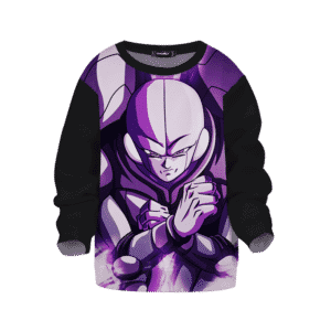 Dragon Ball Z Hit Minimalist Purple Kids Sweatshirt