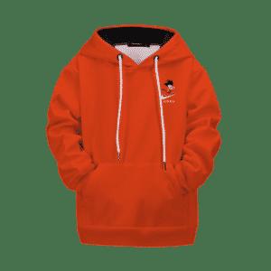 Dragon Ball Z Kid Goku Nike Inspired Fashionable Kids Hoodie