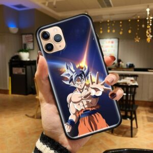 Dragon Ball Z Legends Angry Goku iPhone 12 (Mini, Pro & Pro Max) Cover