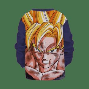 Dragon Ball Z Super Saiyan 2 Goku Scarred Kids Sweatshirt