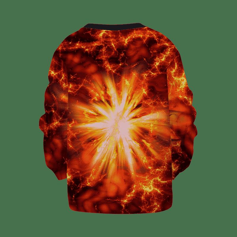 Dragon Ball Z Super Saiyan God Goku Kids Sweatshirt