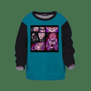 DBZ Goku Black Super Saiyan Rose Children's Sweater