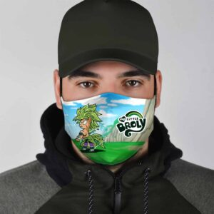 Dragon Ball Z The Little Broly Parody Face Mask