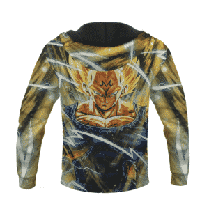 Dragon Ball Z Awesome The Pride Majin Vegeta Super Saiyan Hoodie