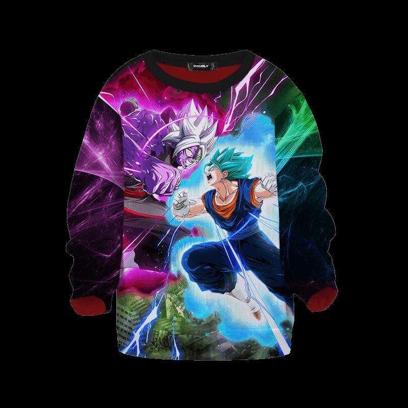 Dragon Ball Z Vegito Black Goku Epic Battle Kids Sweatshirt
