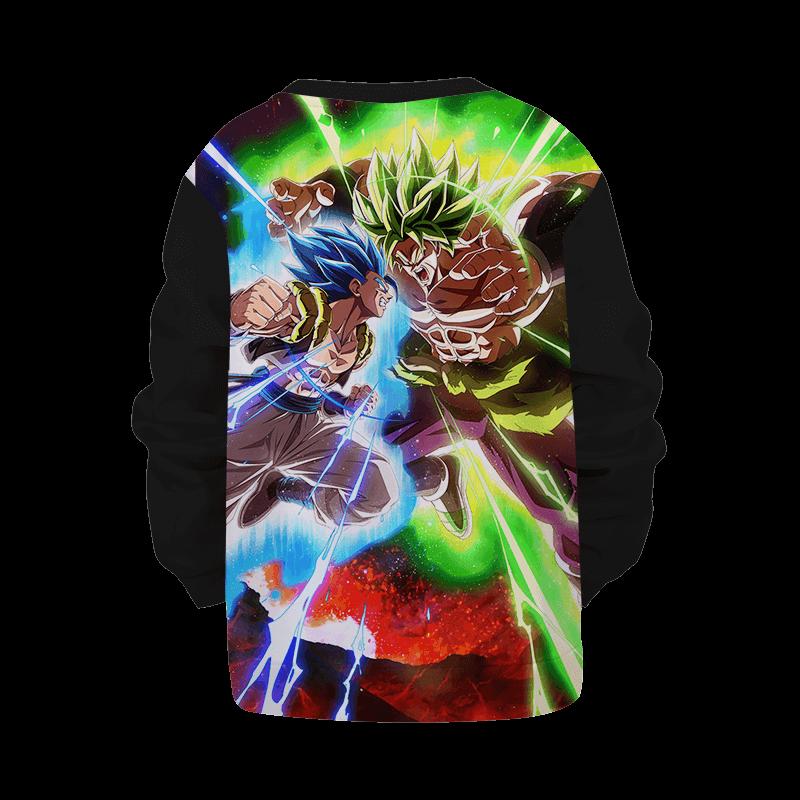Dragon Ball Z Vegito Broly Super Fight Children's Sweater