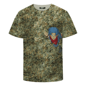 Future Trunks Stuck in a Pool of Marijuana Kush 420 T-shirt
