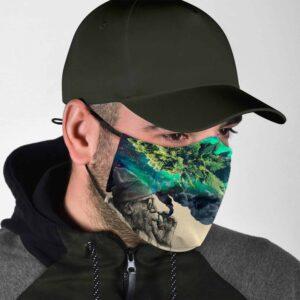 Granda Can Still Smoke Galaxy Cannabis Themed Facemask