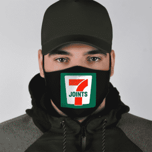 Joint Weed Marijuana 711 Logo 420 Awesome Face Mask