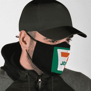 Joint Weed Marijuana 711 Logo 420 Awesome Face Mask