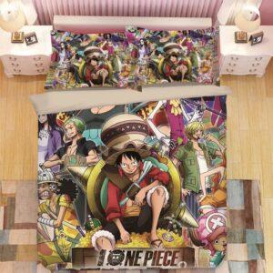 One Piece Stampede Delta Island Pirate Festival Bedding Set