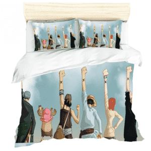 One Piece Straw Hats Left Arm Nakama Symbol Bedding Set