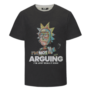 Rick Sanchez Smoking Weed Out of a Bong 420 Marijuana T-shirt