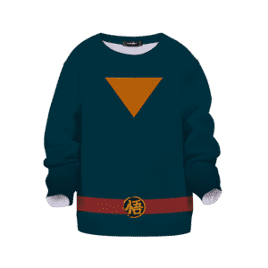 Super Dragon Ball Heroes Goku God Officer Cosplay Kids Sweater