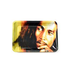 The Legend Bob Marley Rasta King Cannabis Rolling Tray