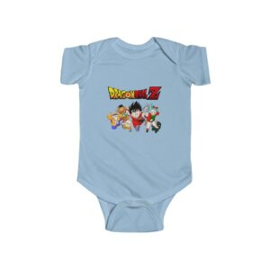 Dragon Ball Classic Team Kid Goku New Born Baby Onesie