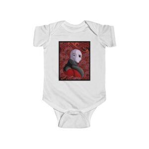 Dragon Ball Jiren Vector Japanese Dragon Red Infant Bodysuit