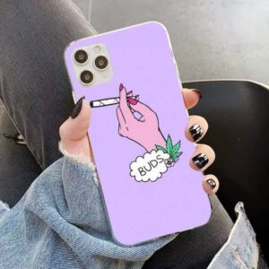 BFF Purple Best Buds Joint Smokes iPhone 12 Cover