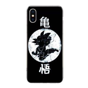DBZ Goku Kid Black and White iPhone 12 (Mini, Pro & Pro Max) Case