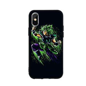 DBZ Goku Super Saiyan Green iPhone 12 (Mini, Pro & Pro Max) Cover