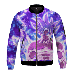DBZ Goku Ultra Instinct Dope All Over Print Bomber Jacket