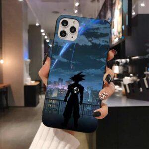 DBZ Kimi No Nawa Inspired Goku iPhone 12 (Mini, Pro & Pro Max) Cover