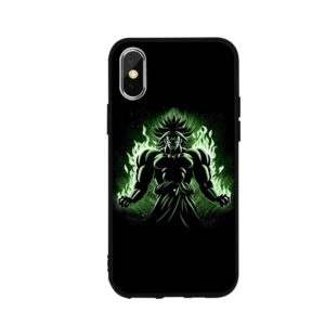 Dragon Ball Angry Broly Aura iPhone 12 (Mini, Pro & Pro Max) Cover