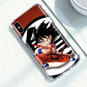 Dragon Ball Animated Goku Karate iPhone 12 (Mini, Pro & Pro Max) Case