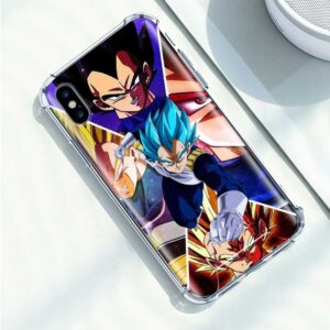 Dragon Ball Badass Vegeta iPhone 12 (Mini, Pro & Pro Max) Case