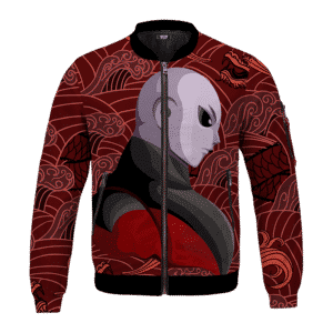Dragon Ball Jiren Vector Japanese Dragon Red Bomber Jacket