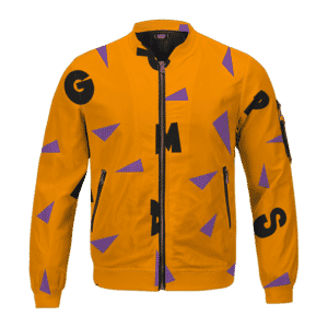 Dragon Ball Master Roshi Art Pattern Cosplay Bomber Jacket