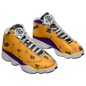Dragon Ball Master Roshi Classic Pattern Basketball Sneakers