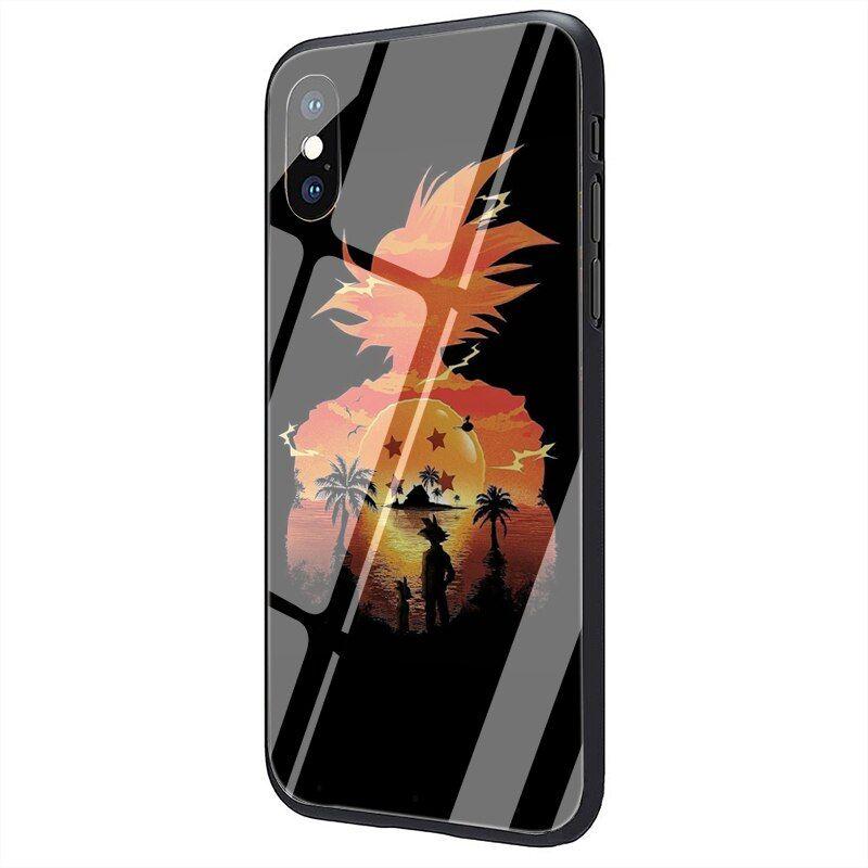 Dragon Ball Galaxy Silhouette Goku iPhone 12 (Mini, Pro & Pro Max) Cover