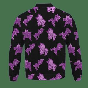 Dragon Ball Prince Vegeta Pattern Saiyan Saga Bomber Jacket