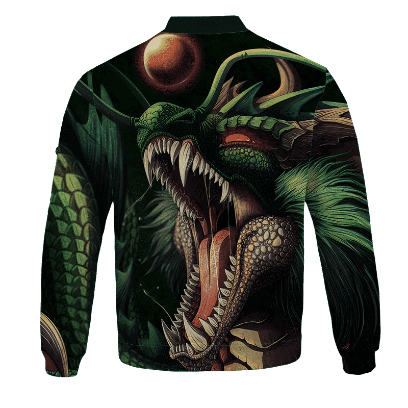 Dragon Ball Super Badass Shenron Art Bomber Jacket