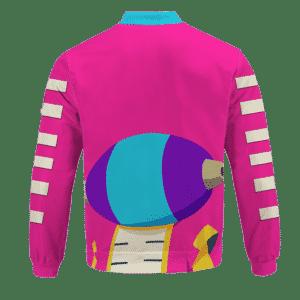Dragon Ball Super Pink Zeno Symbol Art Bomber Jacket