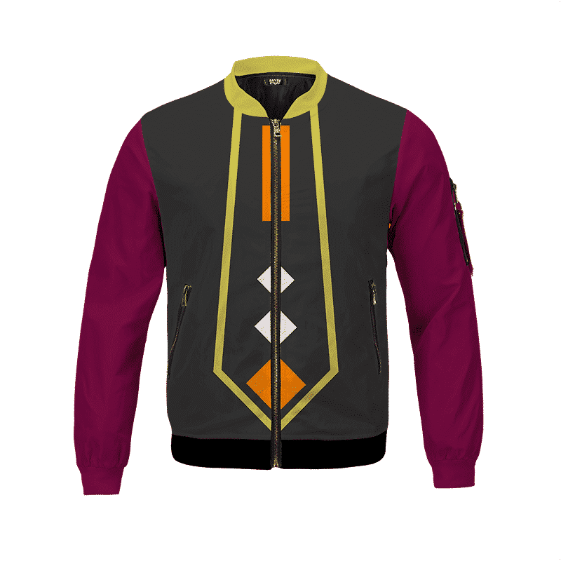 Dragon Ball Super Whis Inspired Cosplay Bomber Jacket