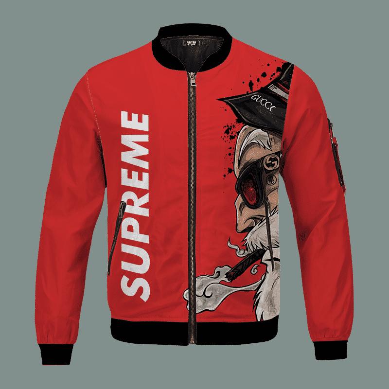 Dragon Ball Supreme Inspired Master Roshi Bomber Jacket