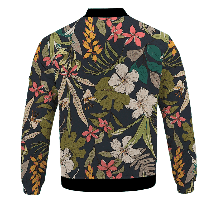 Dragon Ball Supreme Saiyan Breezy Floral Bomber Jacket