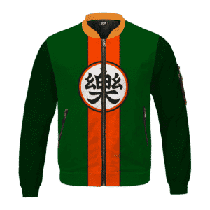 Dragon Ball Yamcha Cosplay Outfit Comfort Kanji Bomber Jacket