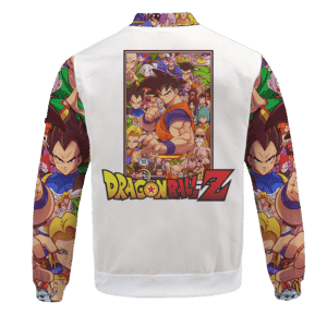 Dragon Ball Z All Characters Goku Family Art Bomber Jacket