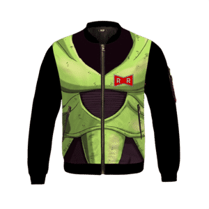 Dragon Ball Z Android 16 Armor Suit Cosplay Bomber Jacket
