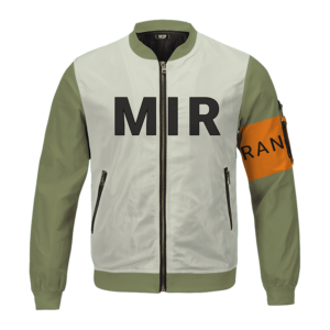 Dragon Ball Z Android 17 Mir Ranger Bomber Jacket