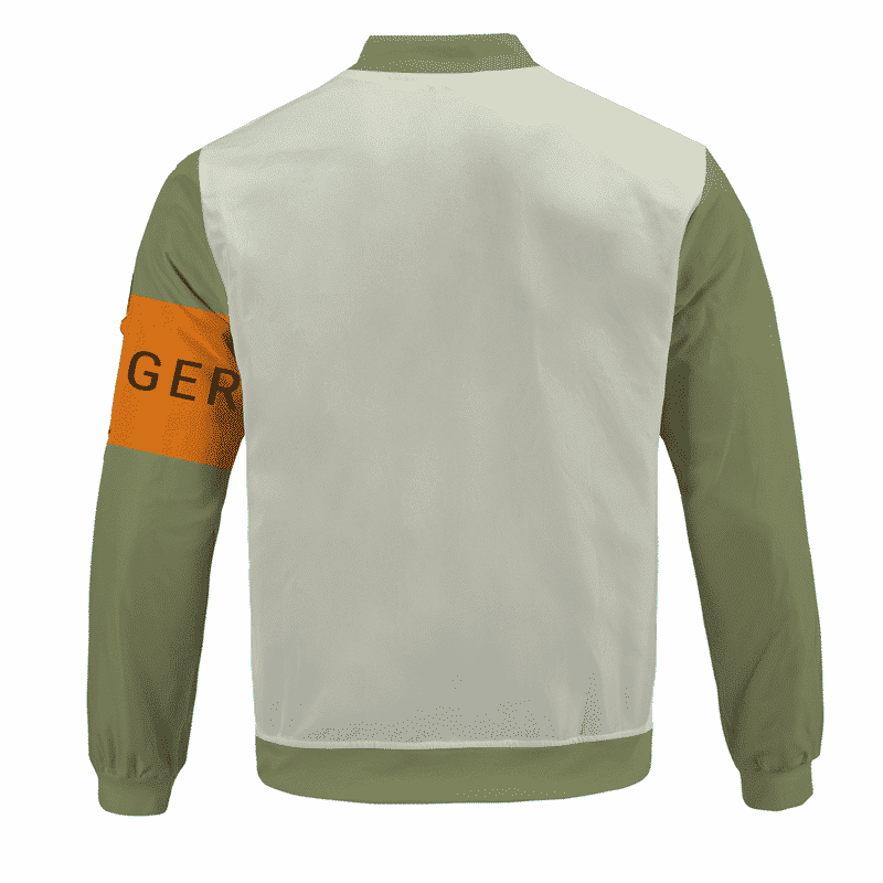 Dragon Ball Z Android 17 Mir Ranger Bomber Jacket - back