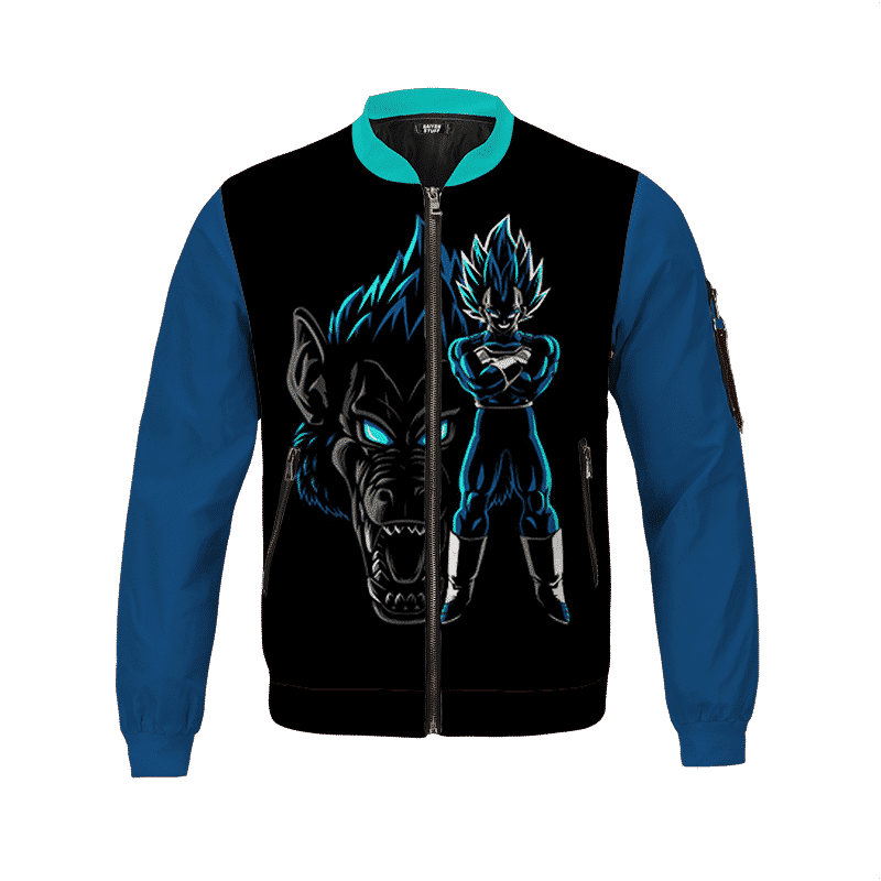 Dragon Ball Z Angry Vegeta Ape Form Cool Bomber Jacket